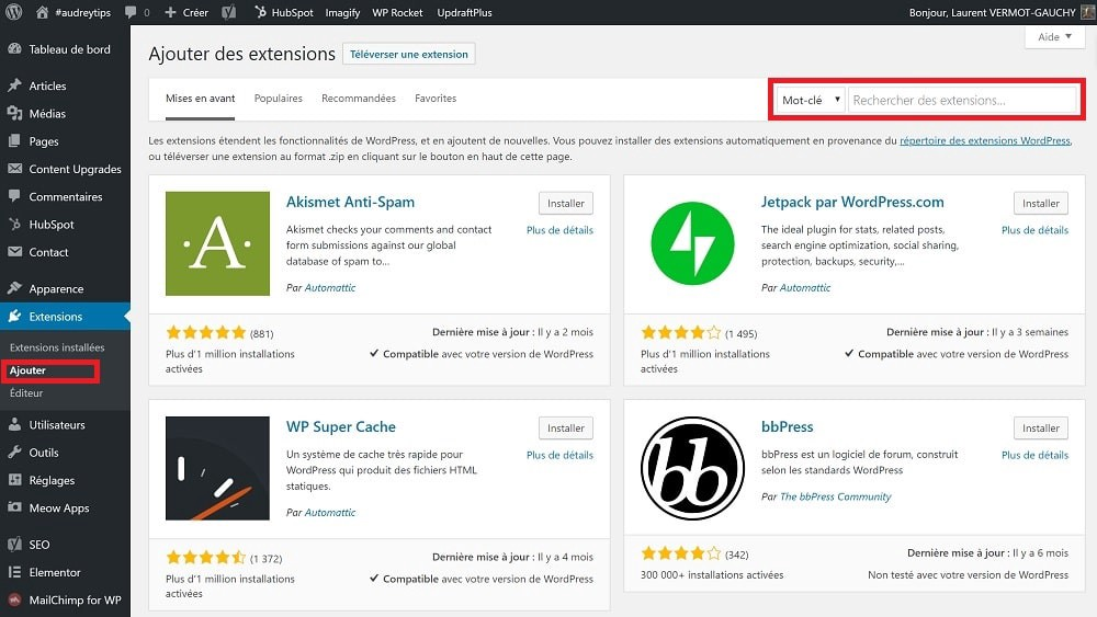 Mes 29 extensions indispensables pour WordPress