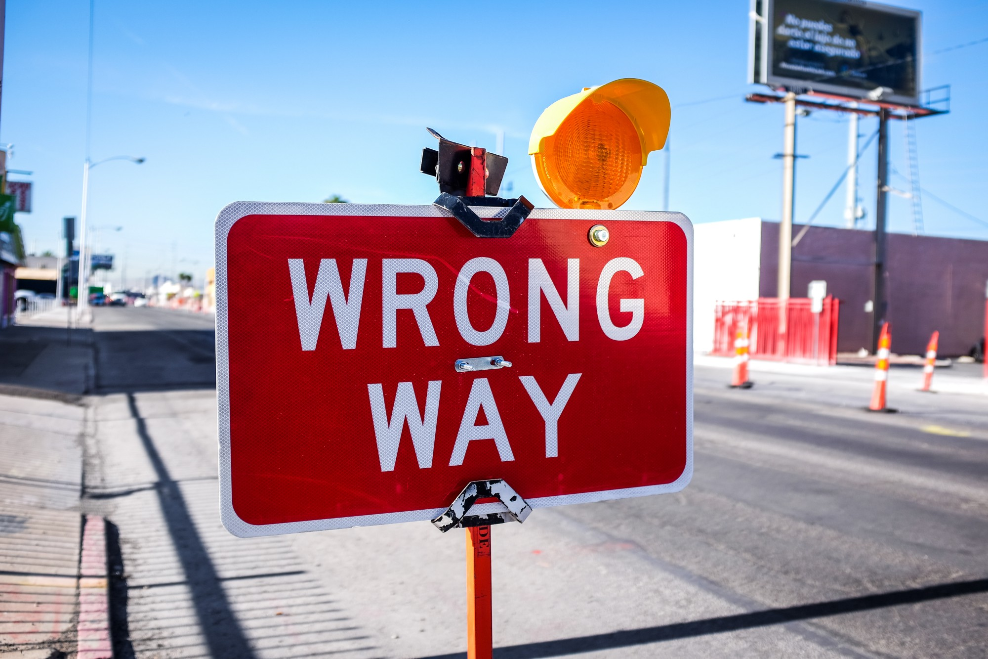 Making right decisions are not always easy. Don't go the wrong way in life.