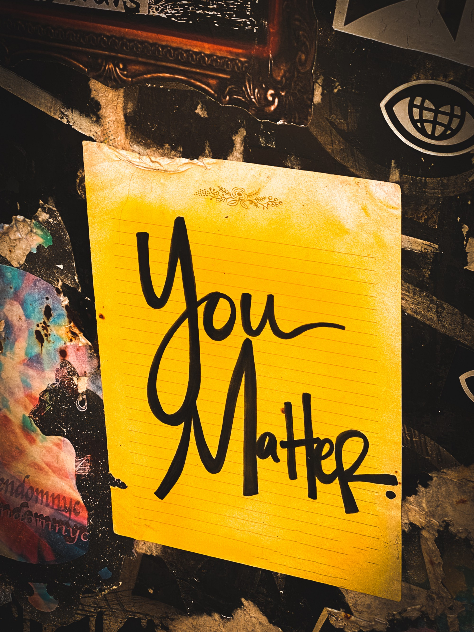 You matter: Becoming a valuable and notaeperson
