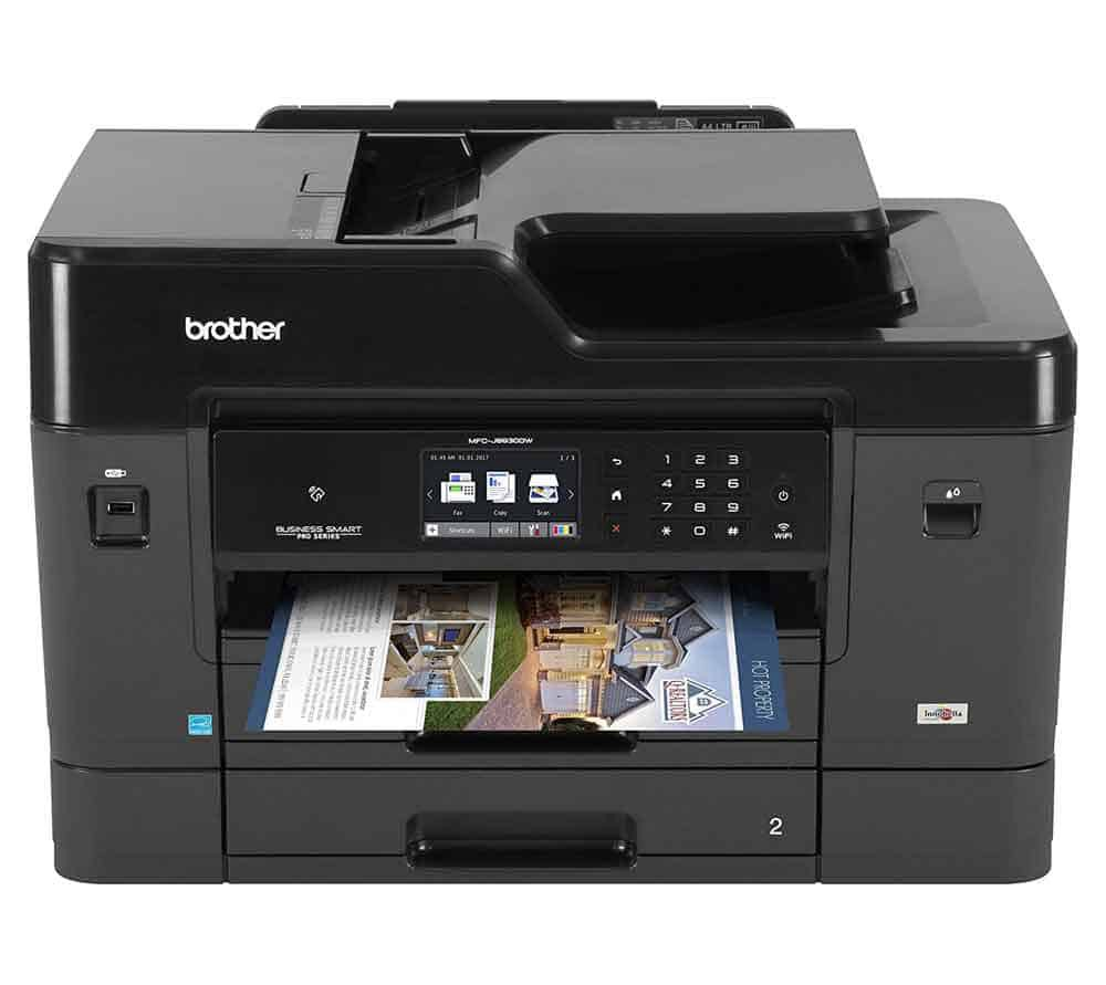 Brother-MFC-J6930DW-All-in-one-Business-Inkjet-Printer