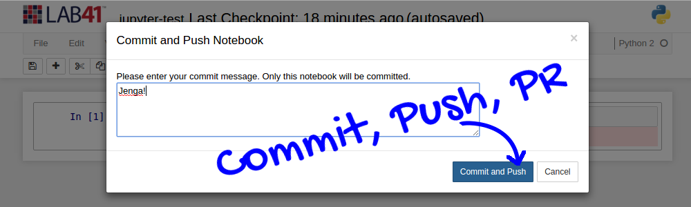Commit-and-Push to GitHub from Jupyter Notebooks - Gab41