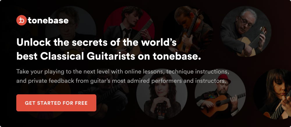 Classical guitar lessons from the world's best guitarists