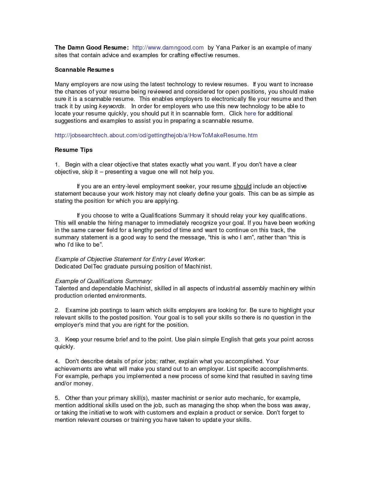 14 Professional Summary for Resume No Experience Samples | by Diocorrane |  Sep, 2020 | Medium