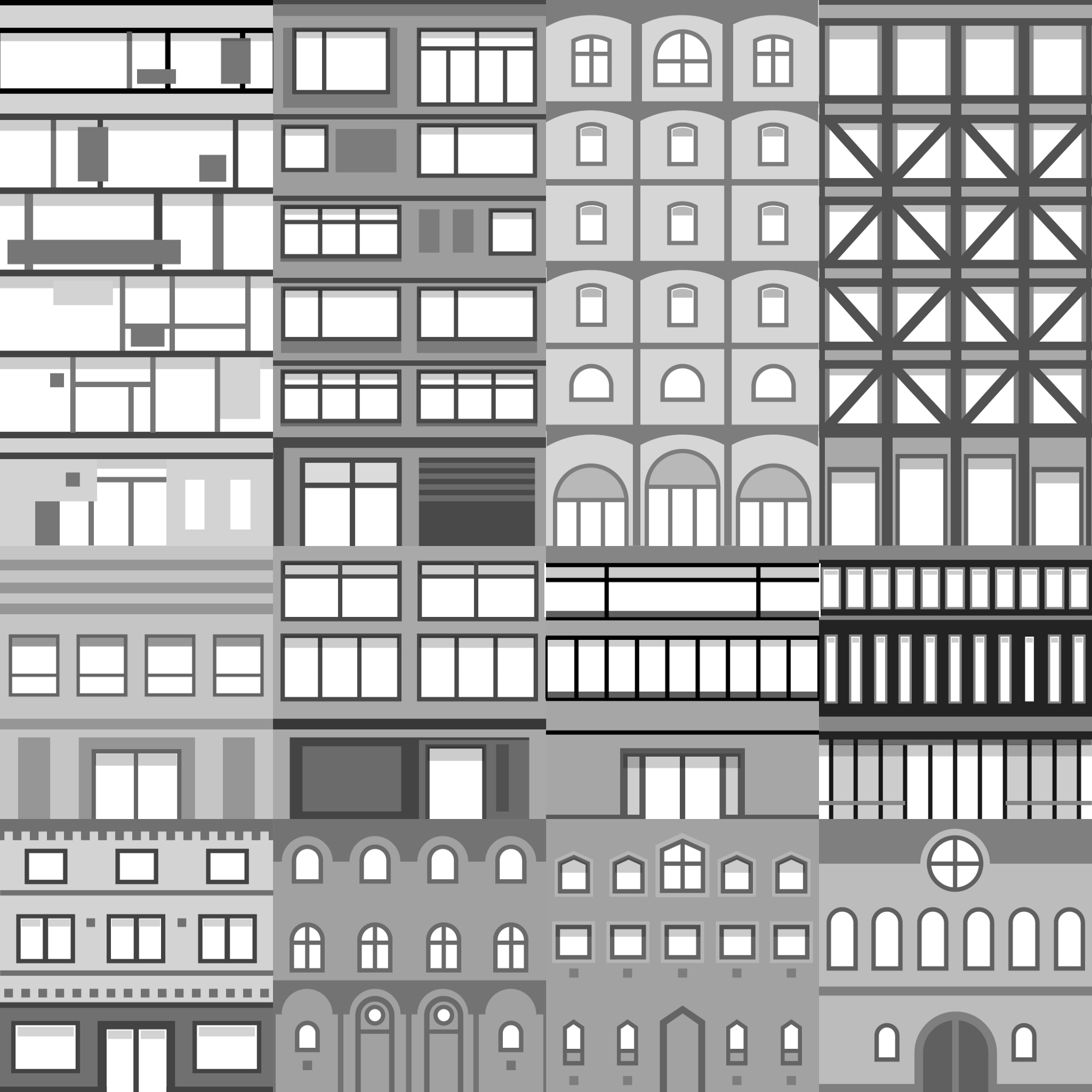 Style your city in Unity - Points of interest