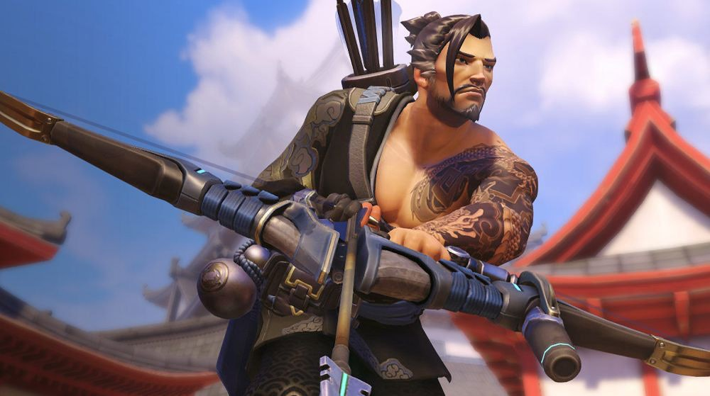 Picture of the Hanzo character from Overwatch.