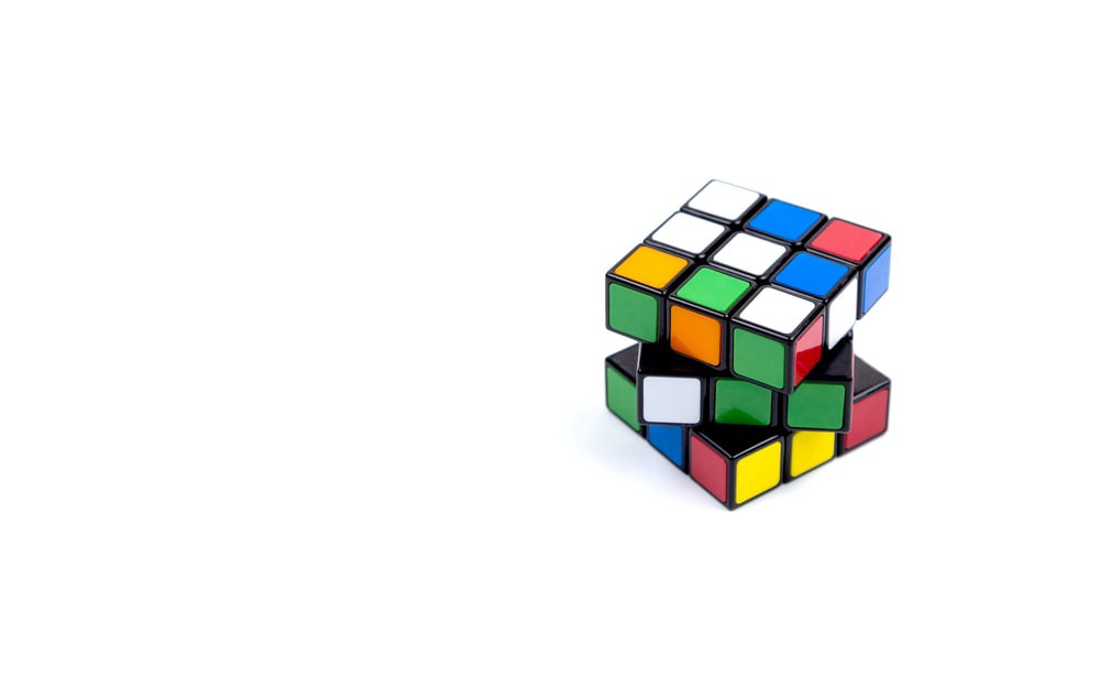 3x3 Rubik's cube photo