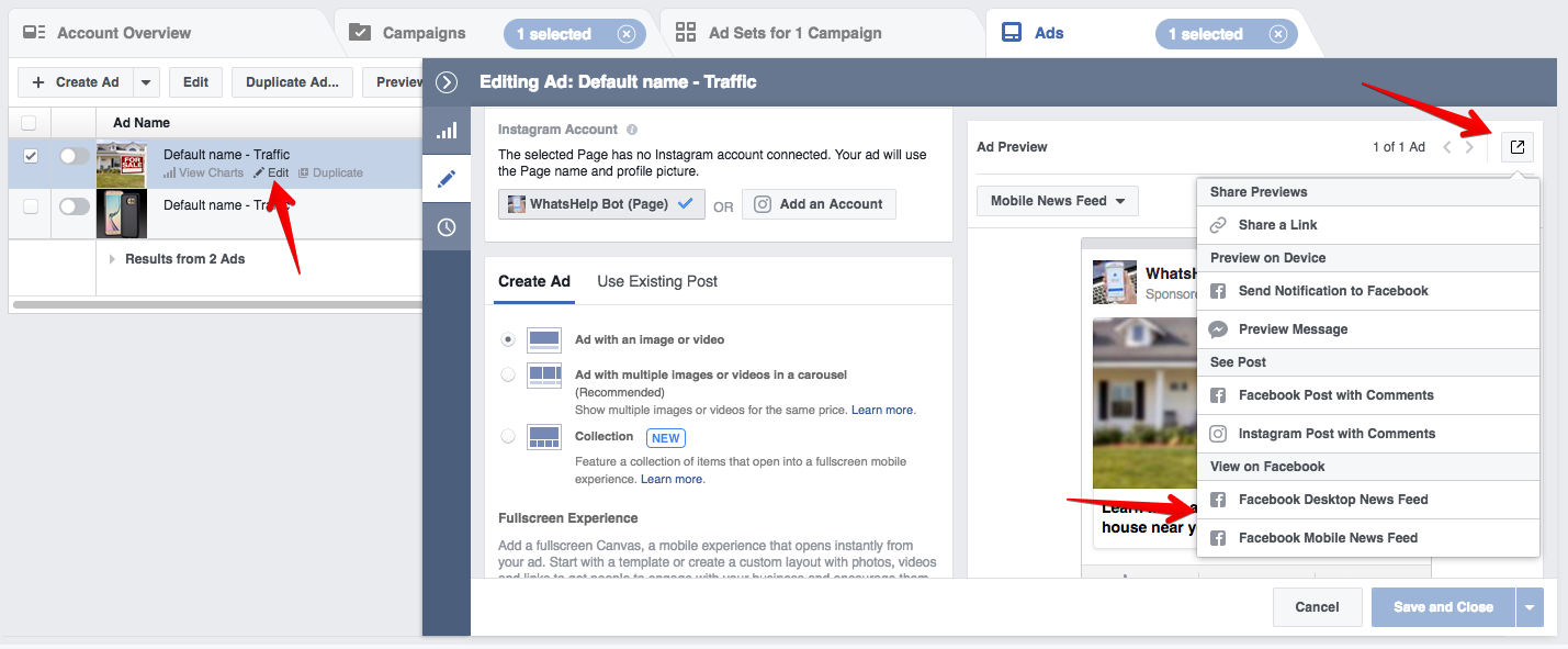 How to setup a Messenger bot and Facebook Ads to generate more leads