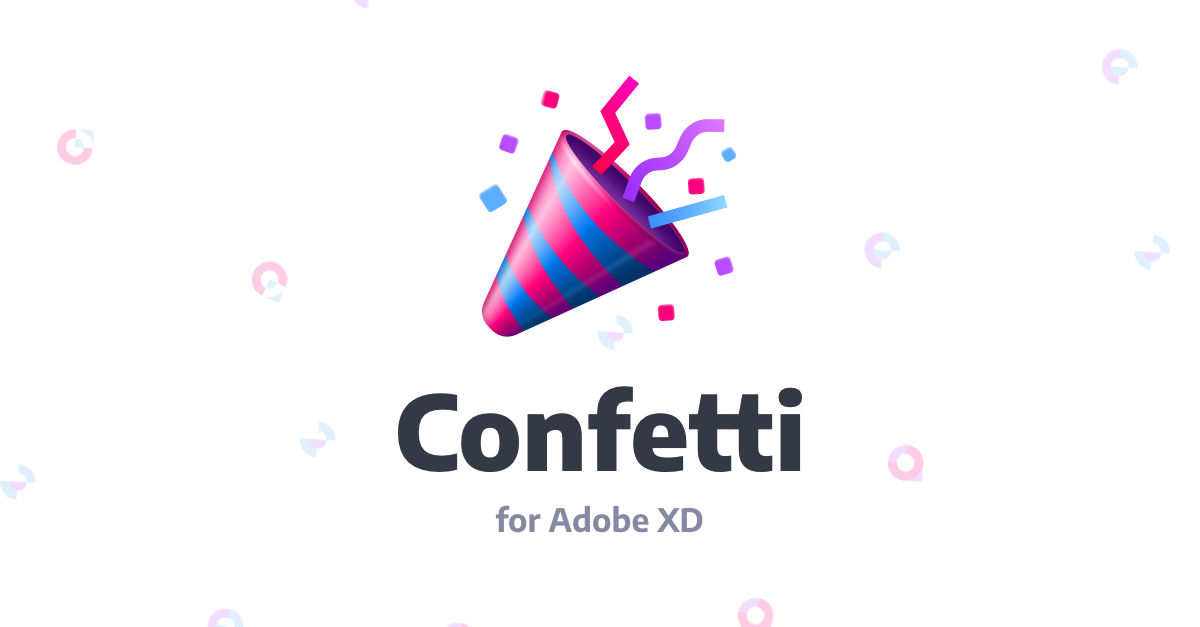 Building a Party Plugin Inside Adobe XD with Confetti
