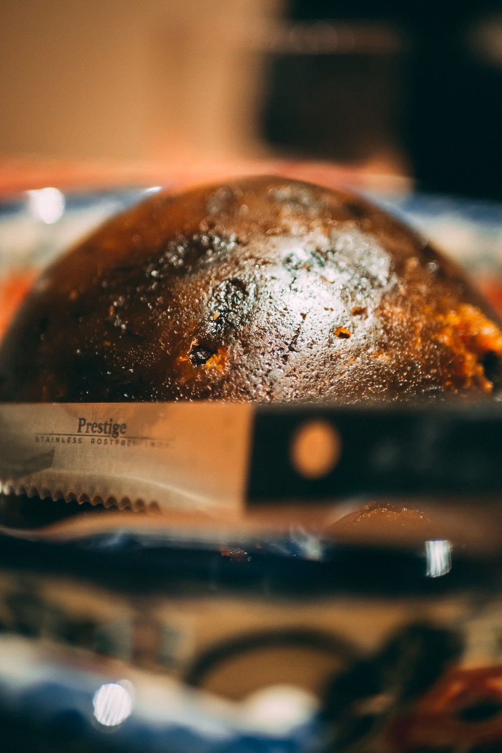 A delicious looking Christmas pudding
