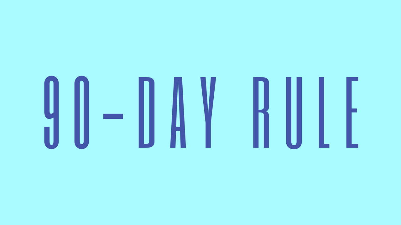 90-Day Sex Rule. The 90-day rule refers to when a person… | by Tiffy  Diamond | Medium