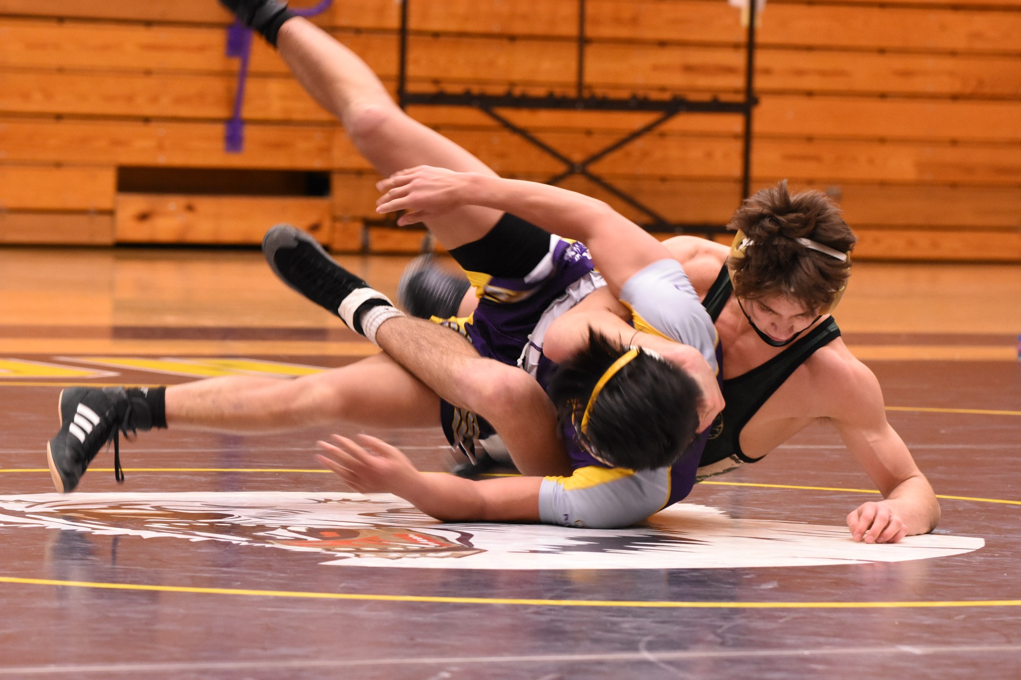 Greco Roman Wrestling builds confidence