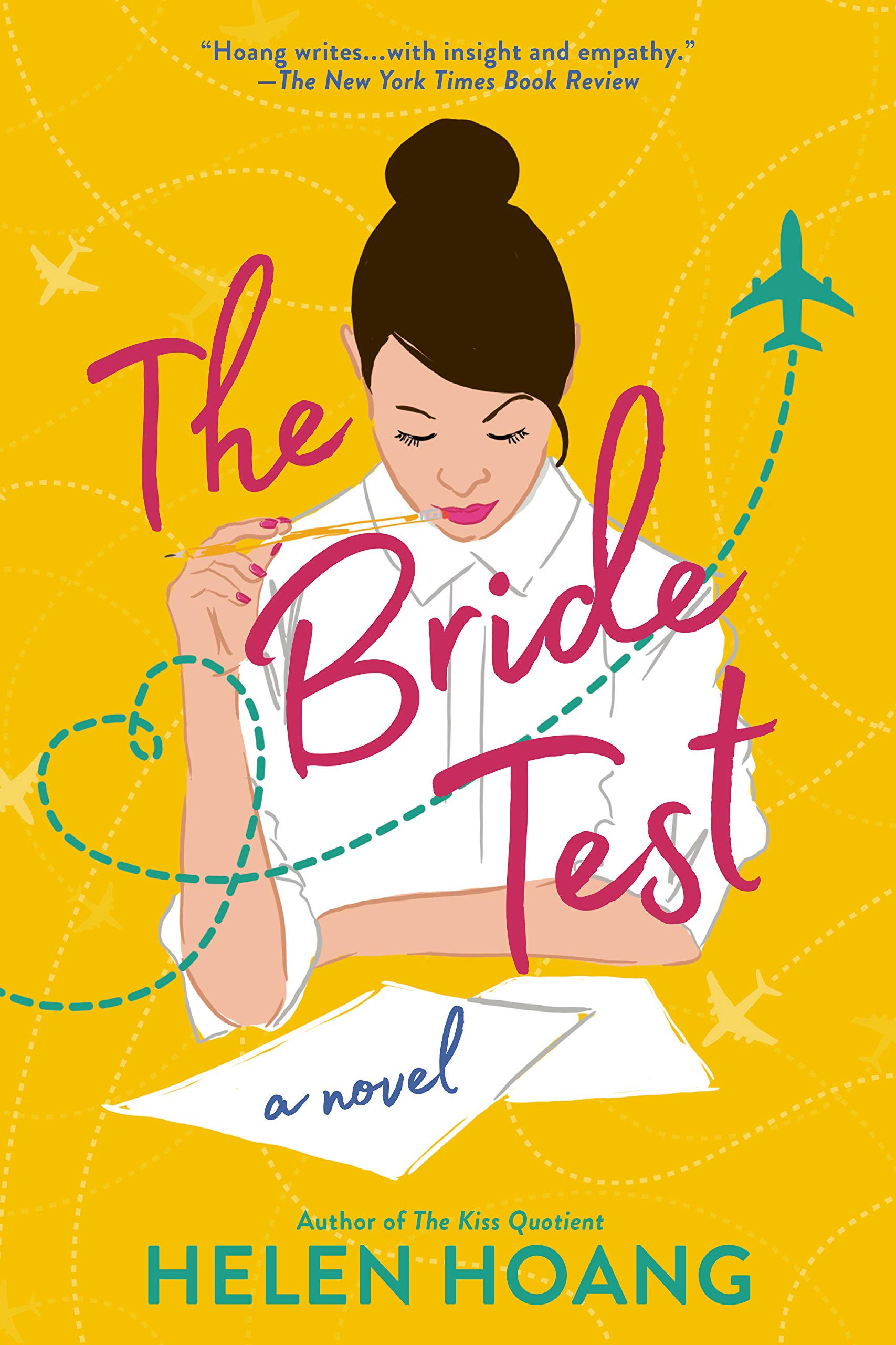 """The cover for Helen Hoang's novel """"The Bride Test"""""""