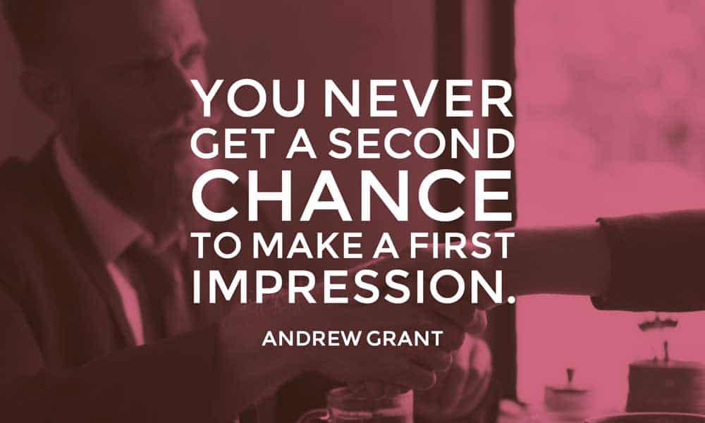 first-impression-quote