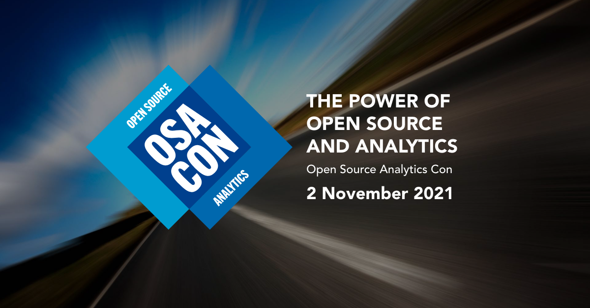 Announcing OSA Con: The Open Source Analytics Conference
