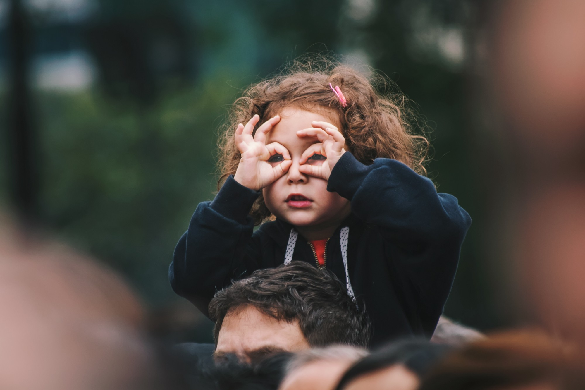 How to see God in the everyday. We find what we are looking for.