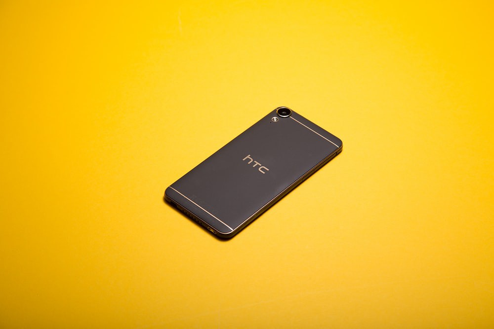 Black HTC Android device