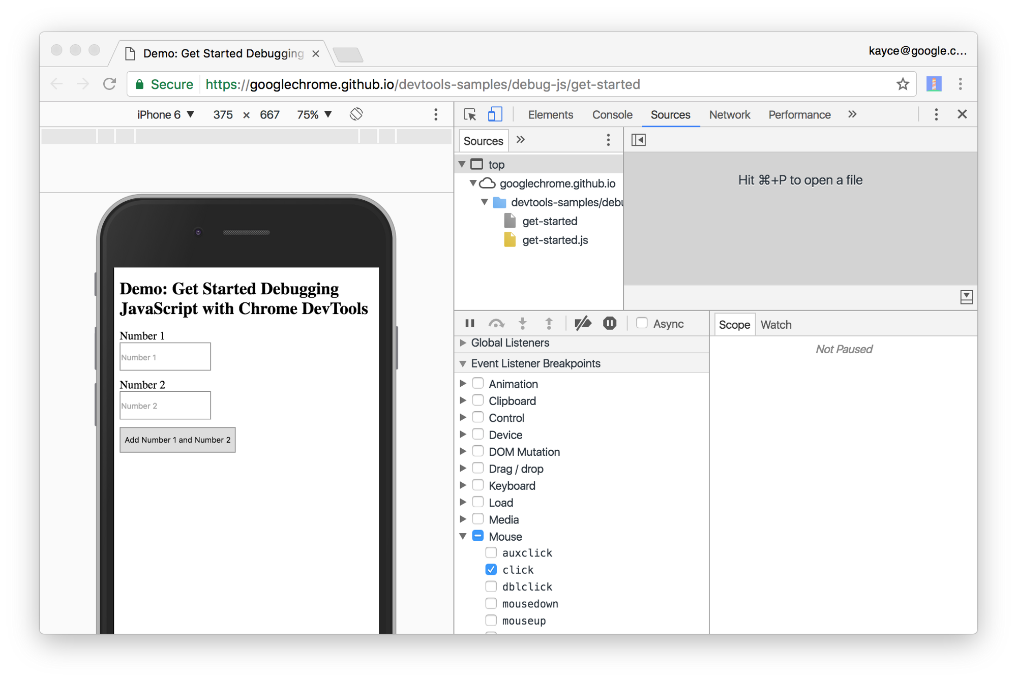 Learn How To Debug JavaScript with Chrome DevTools - codeburst