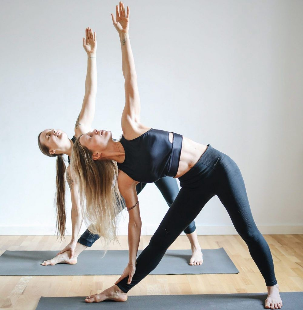 Top 12 Coolest Yoga Poses For Two People By Yoga Poses For Two Medium