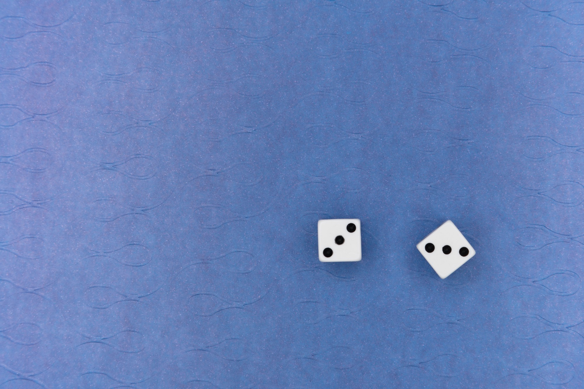 Dice rolled—a gamble.