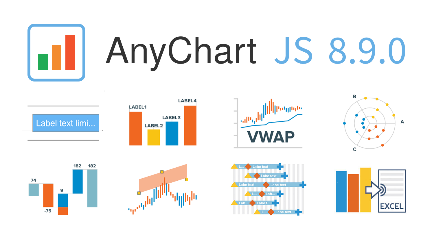 New features in AnyChart JS Charts 8.9.0