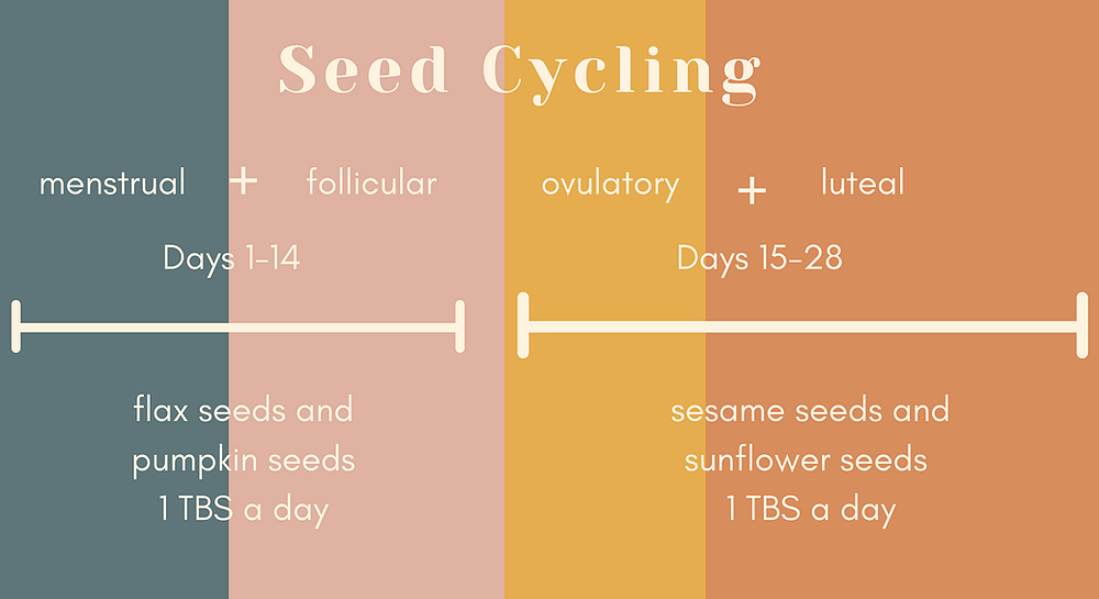 graphic showing seed cycling and phases