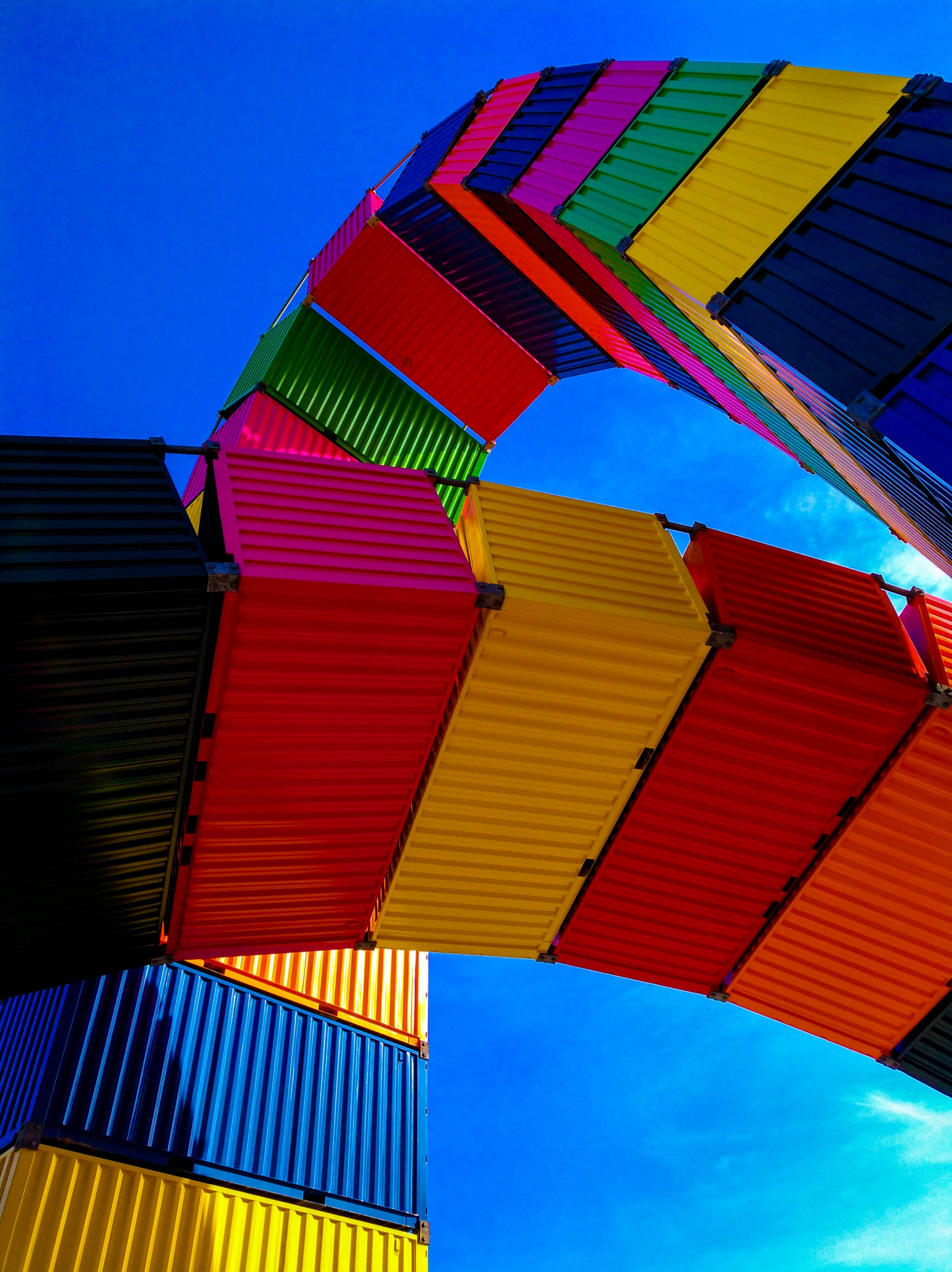 containers over containers