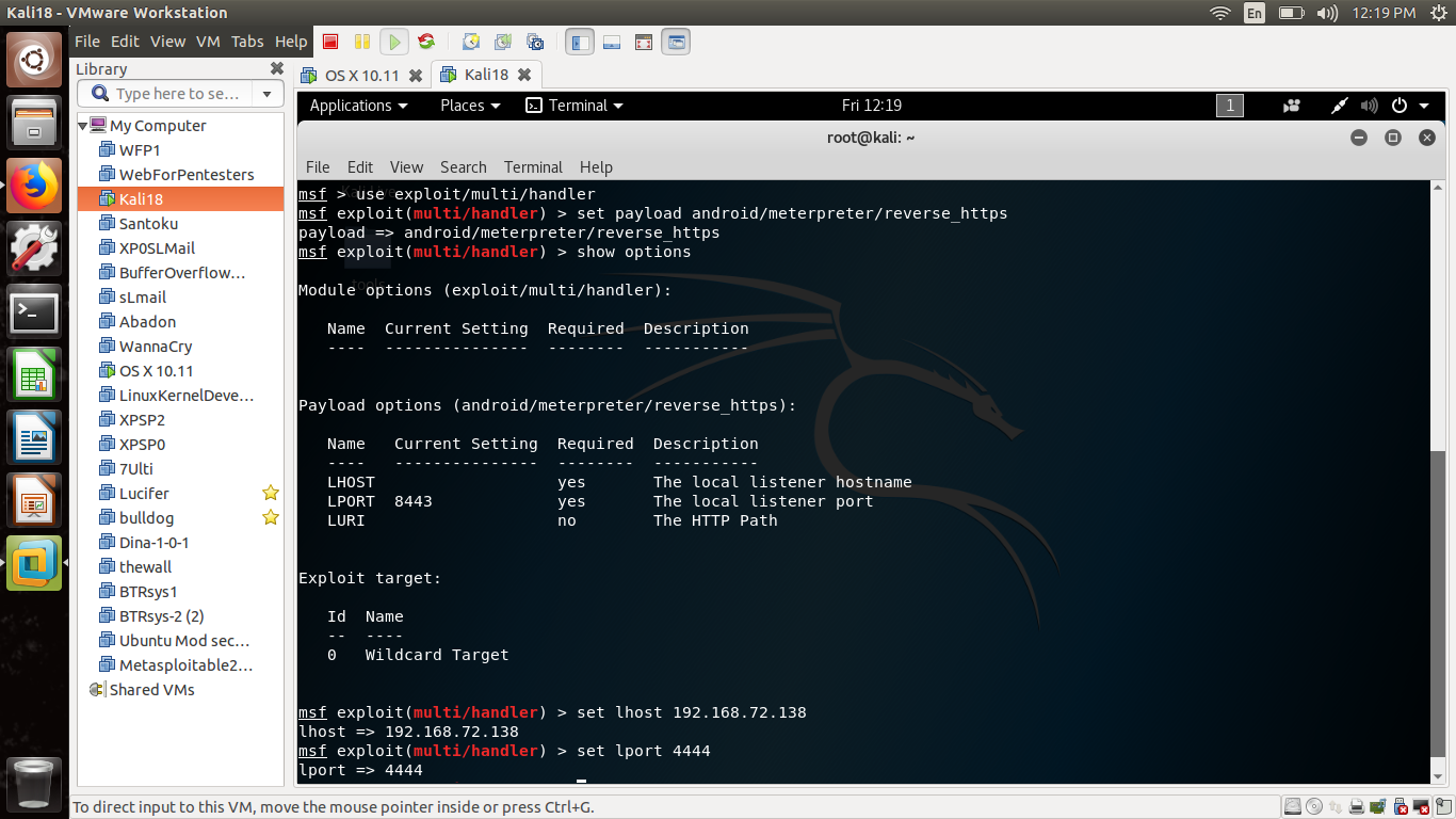 The Black Hat Art of Backdooring Android APK | Part 1