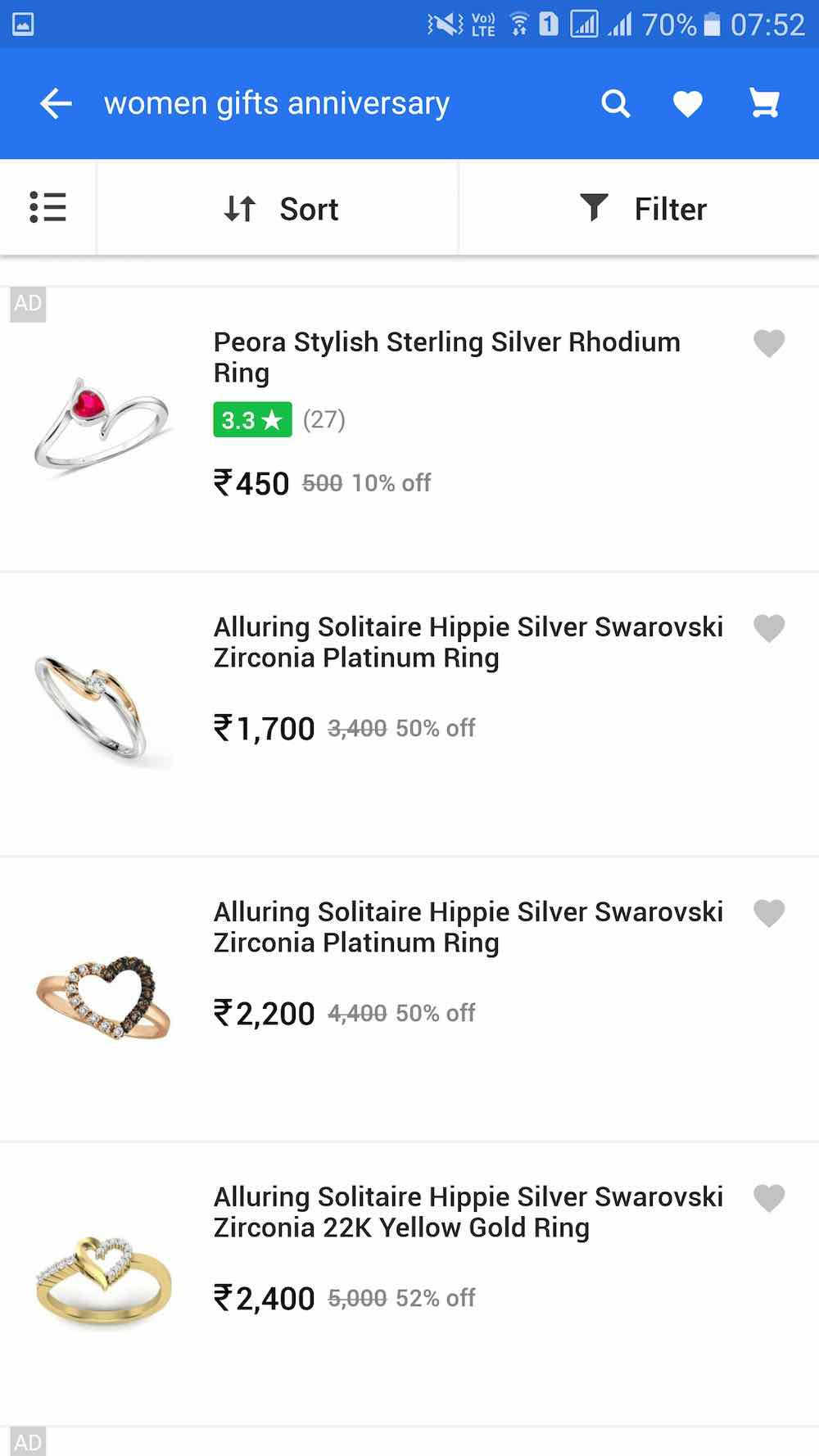 Product Review: Flipkart — Search, Glitches — Part 2