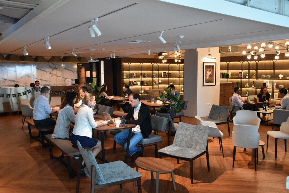 co-working spaces singapore