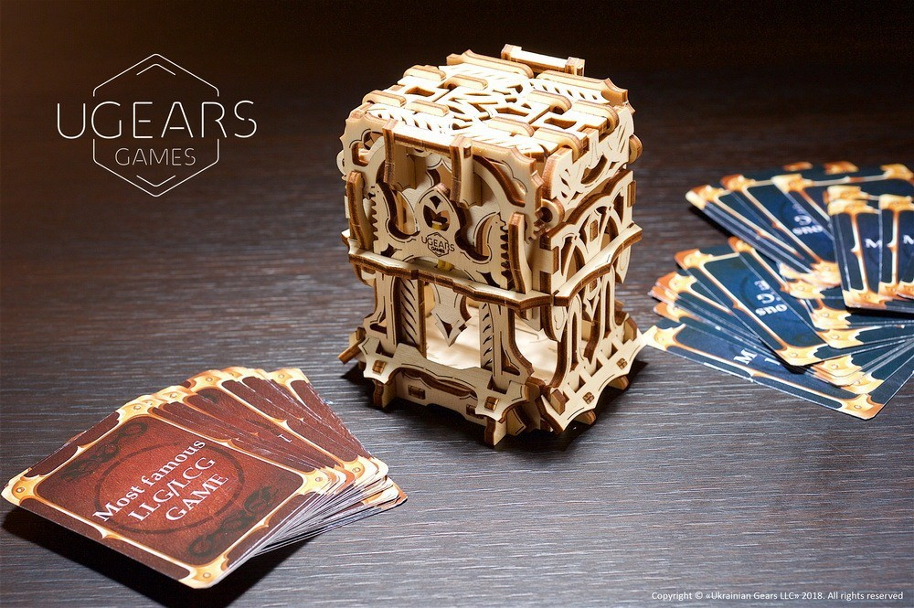 """REVIEW] UGEARS """"Tabletop Devices"""" - TABLETOP TRIBE - Medium"""