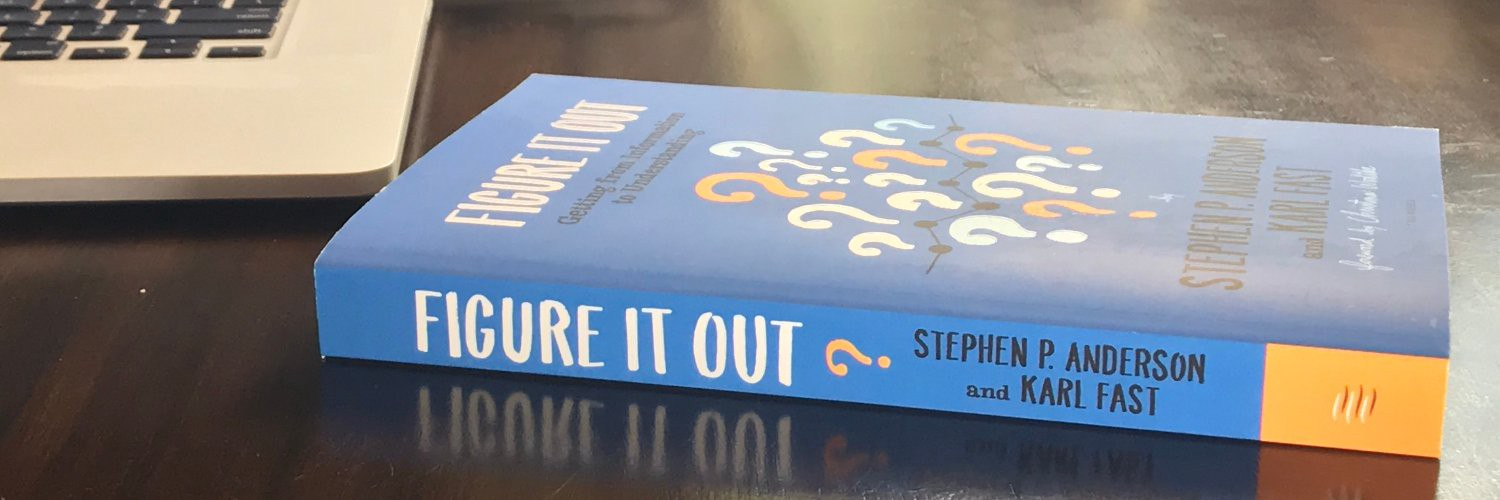 Photo of the book 'Figure It Out' lying flat on a desk