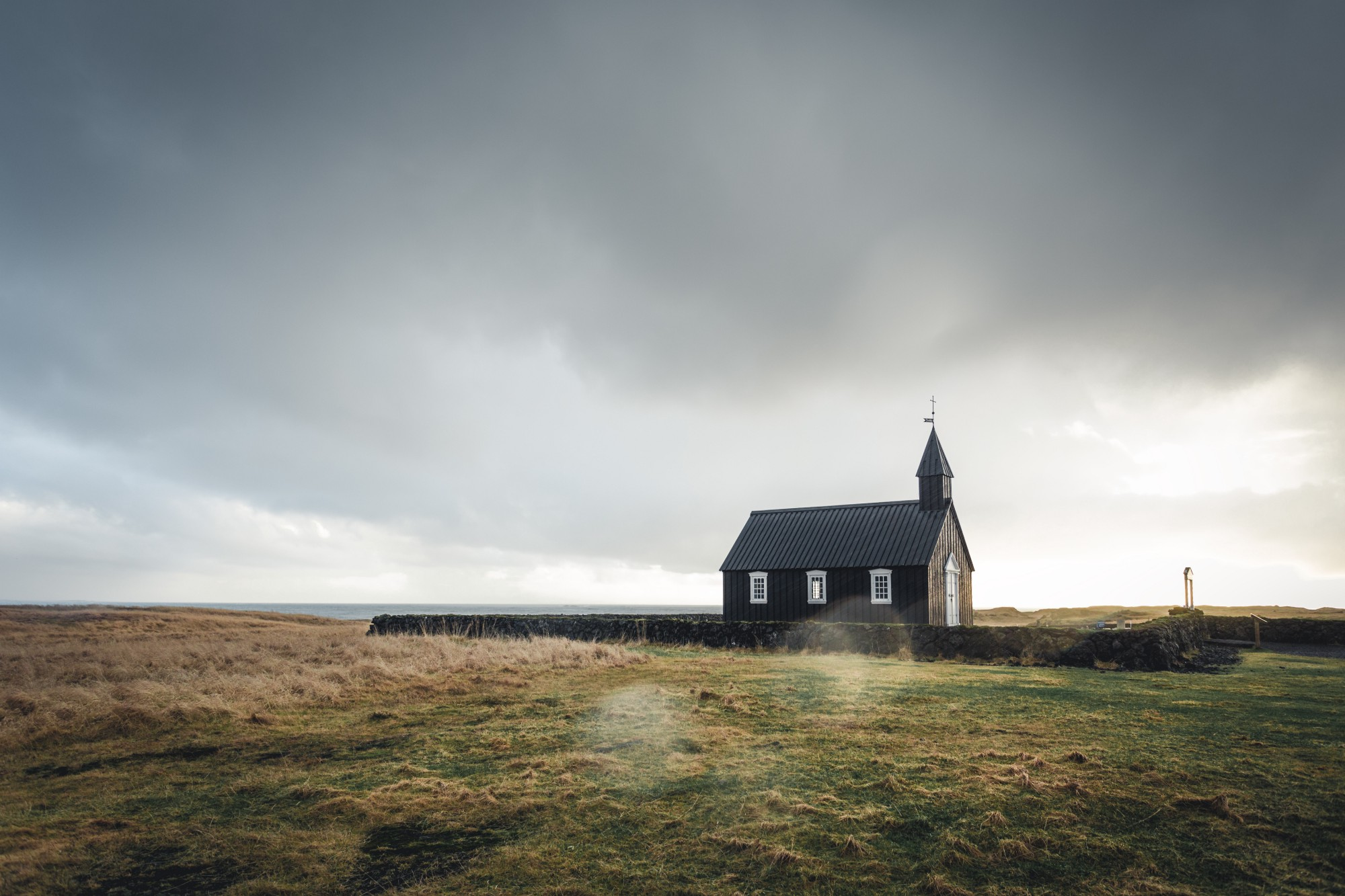 church in a field. We are not to be conformed to the world