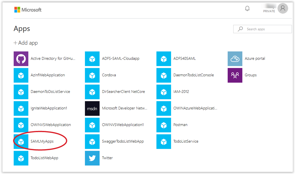 IDPInitiated sign-on with Azure AD - The new control plane