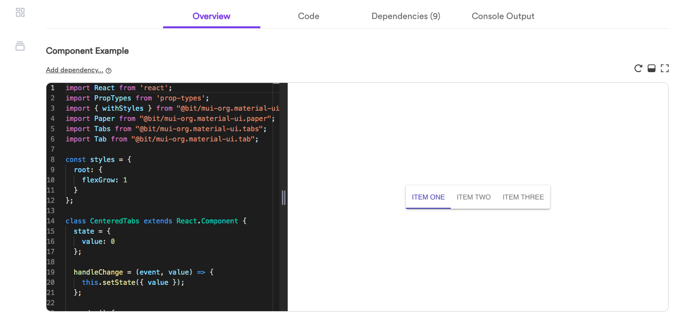 How to Find and Use Components from bit dev to Build Your App