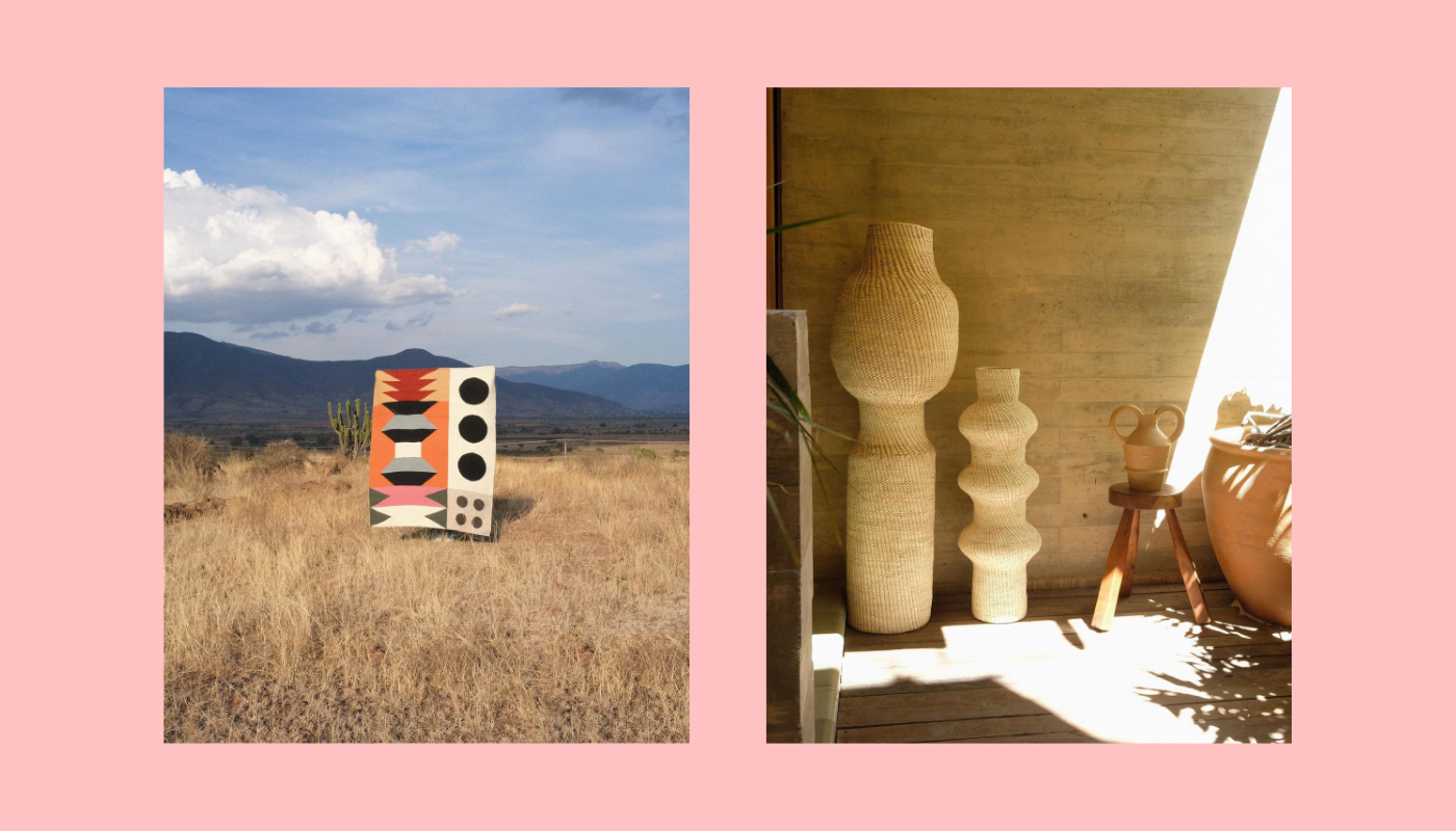 rrres is a Latin American design studio that specializes in handmade goods made from cotton, wool, clay, and palm.