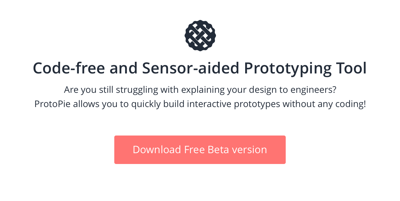 ProtoPie - Interactive prototyping tool for all digital products
