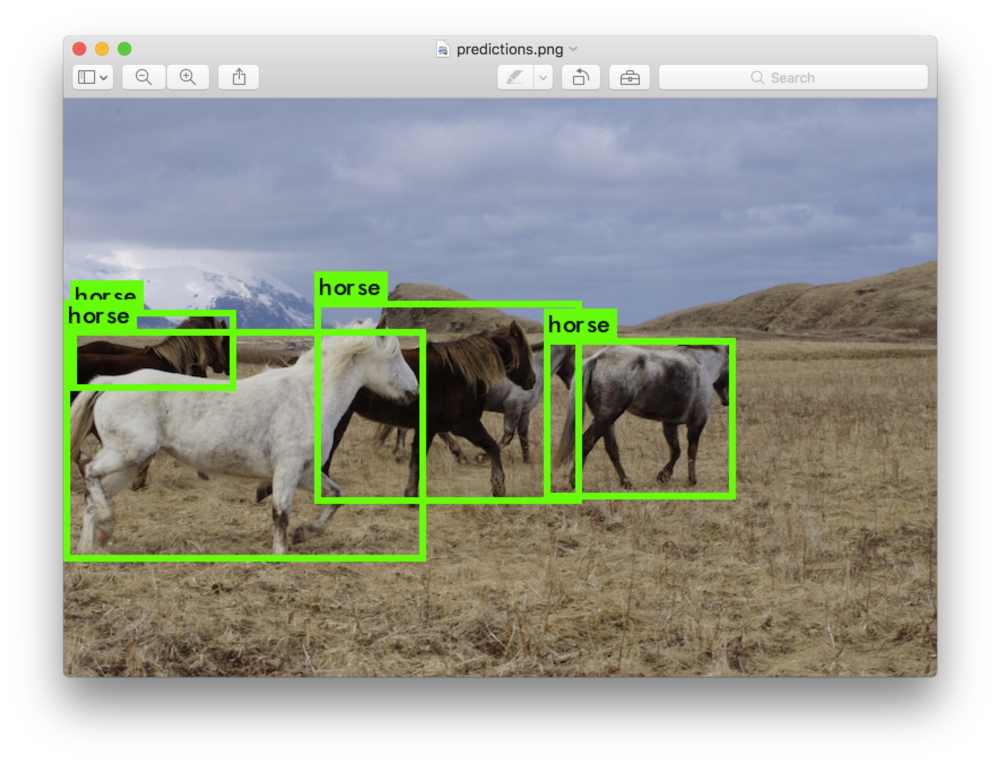 Detecting custom objects in images/video using YOLO with