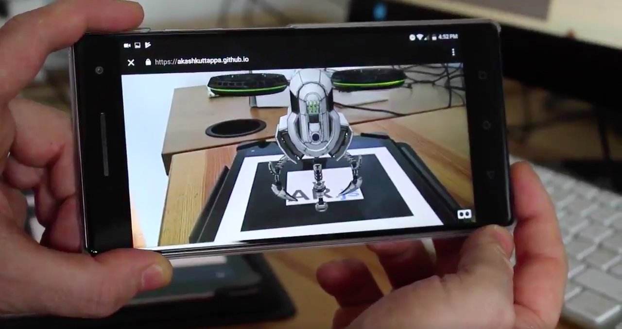 Using 3D models with AR js and A-Frame - Akash Kuttappa - Medium