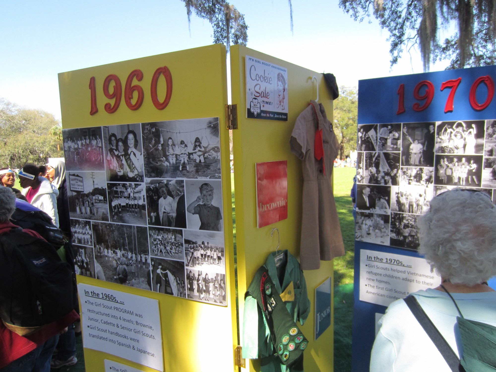 girl scout display
