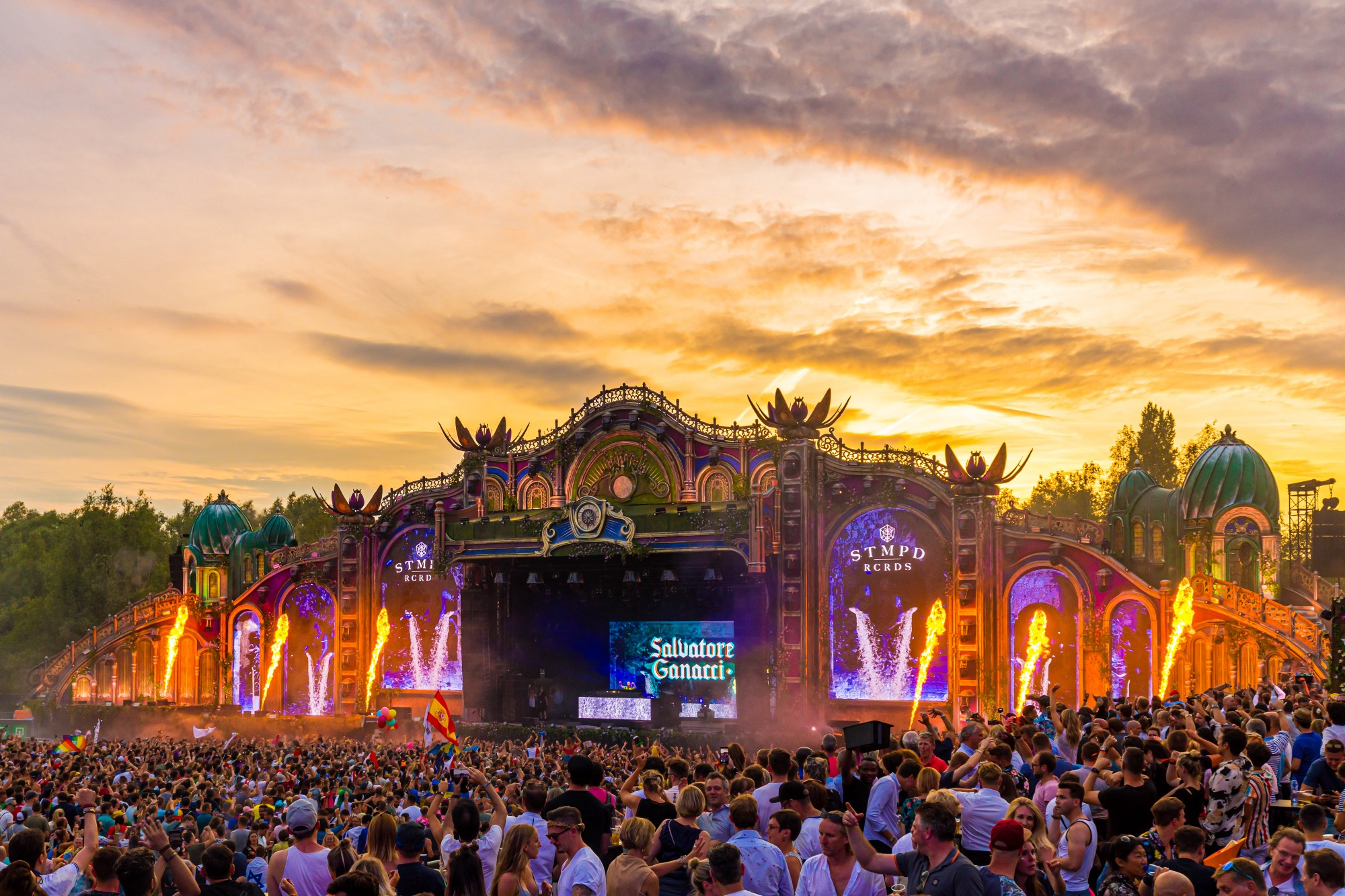 Tomorrowland festival in Boom, Belgium, in 2019.