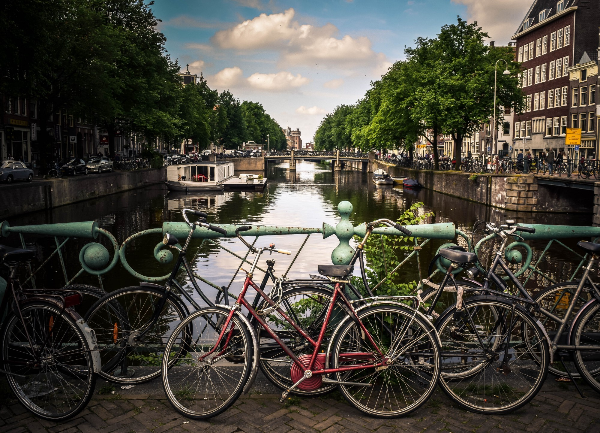 A picture of Amsterdam—Canals, Bridges and Bicycles