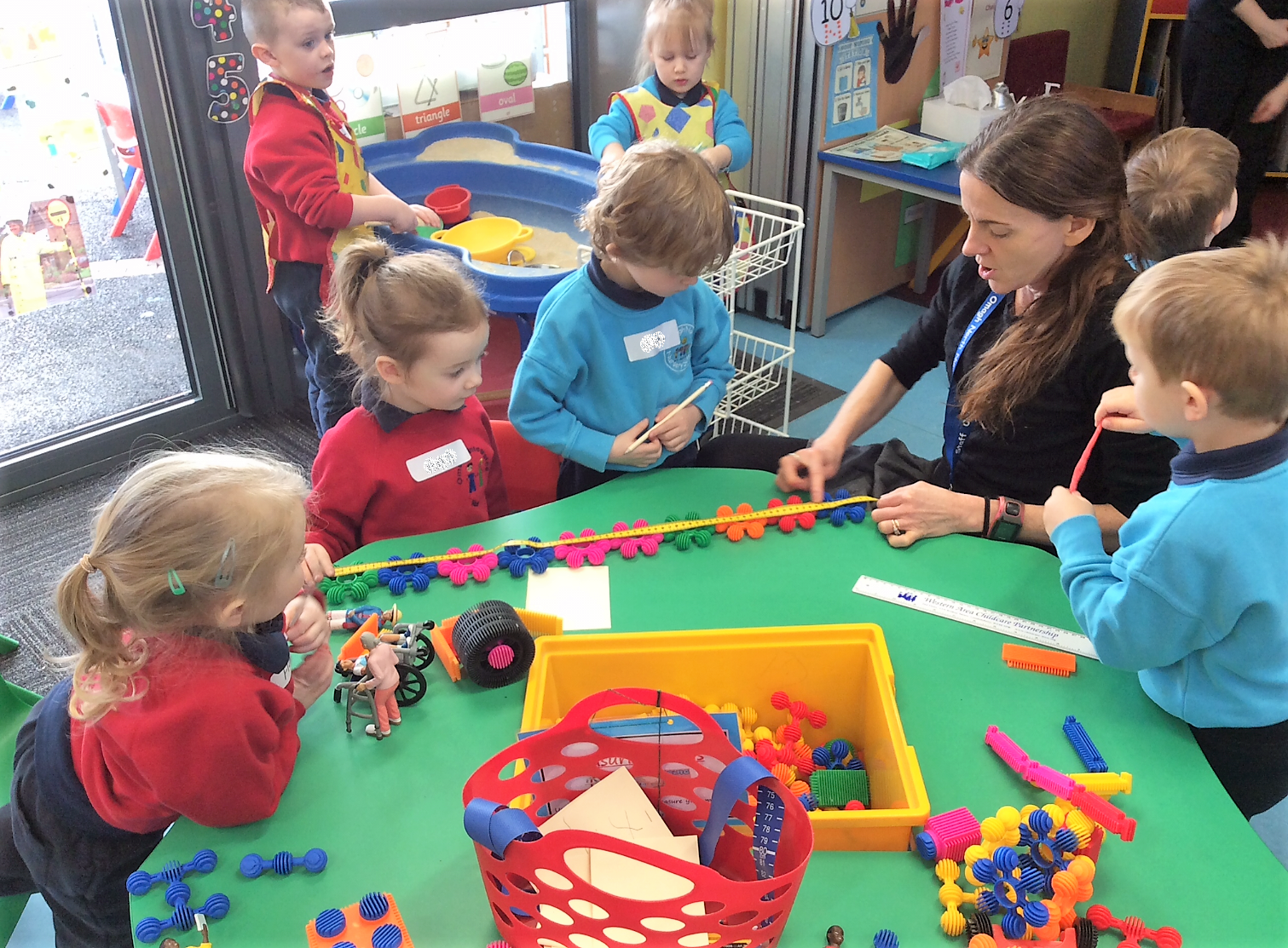 Omagh Integrated Nursery, Omagh North Nursery, and Christ the King Nursery—a variety of play and craft activities that supported the children's development as well as promoting the development of friendships. ©2020 Early Years.