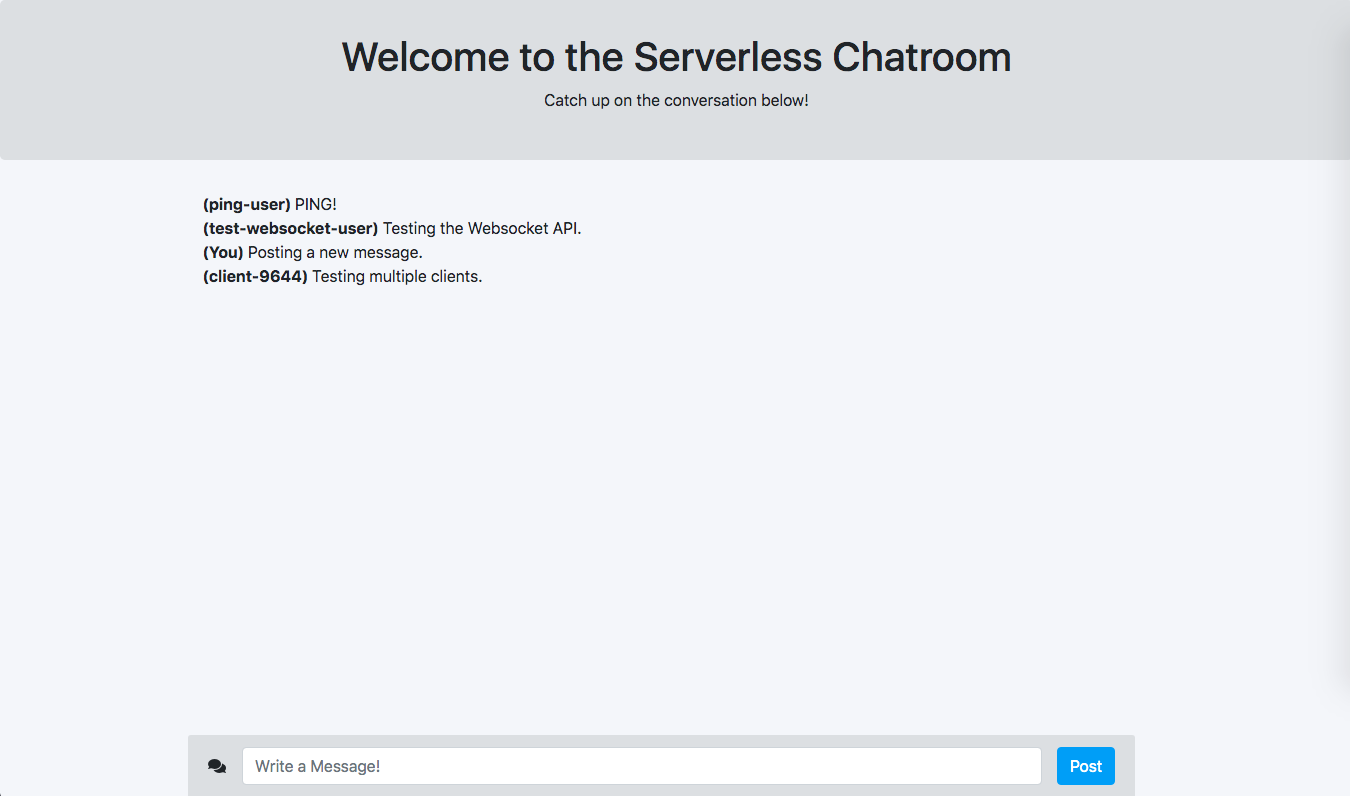 Creating a Chat App with Serverless, WebSockets, and Python: A Tutorial