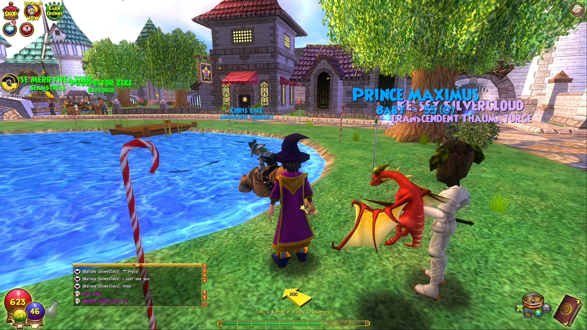Wizard101 break up
