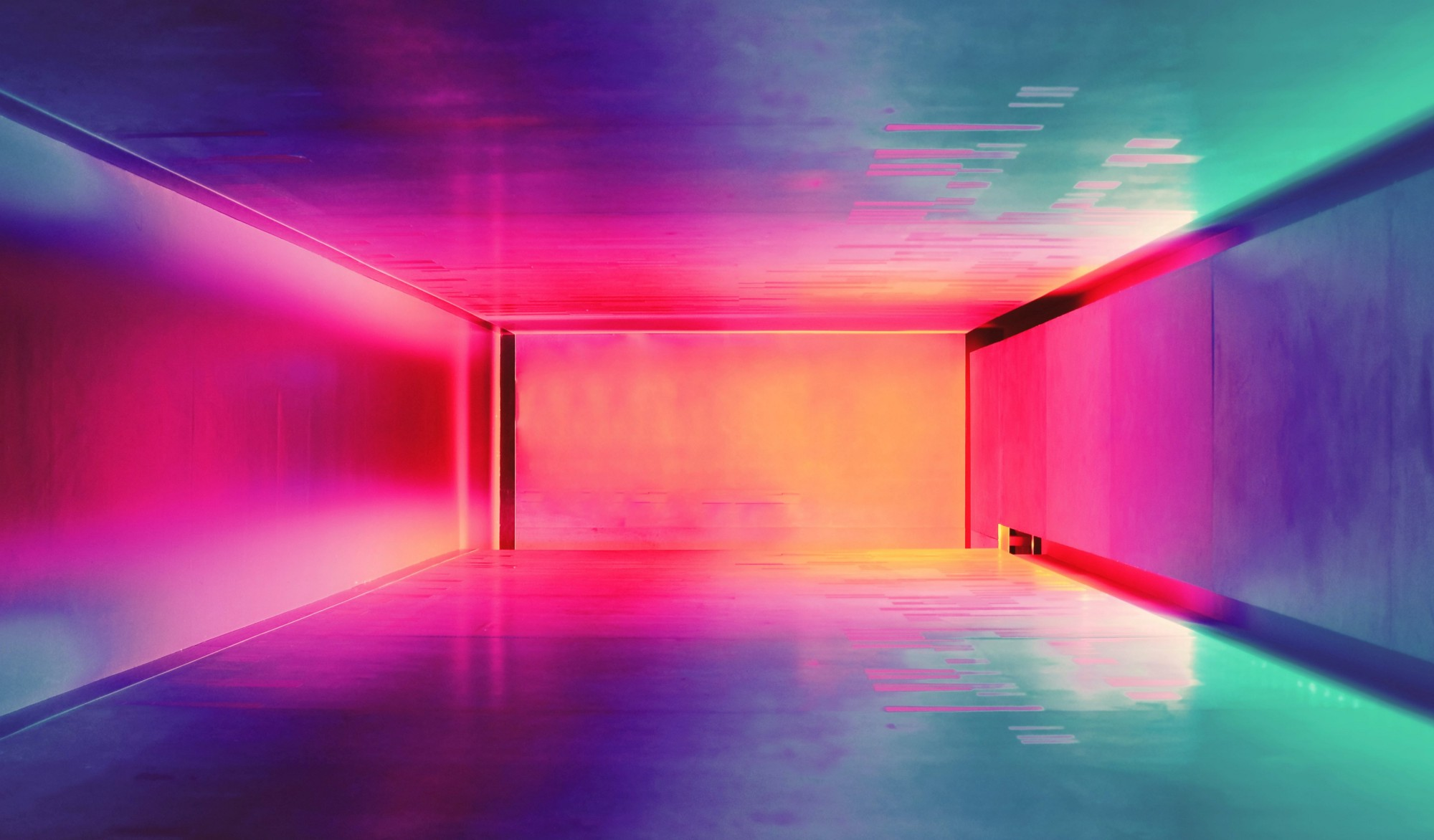 Multicoloured corridor