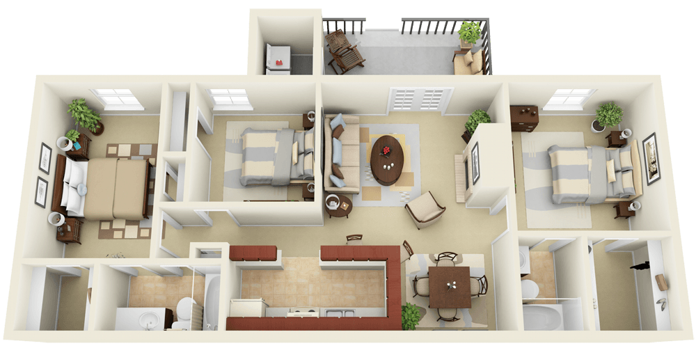 How To Attract Home Buyer With 3d Floor Plan Fotosolution Medium