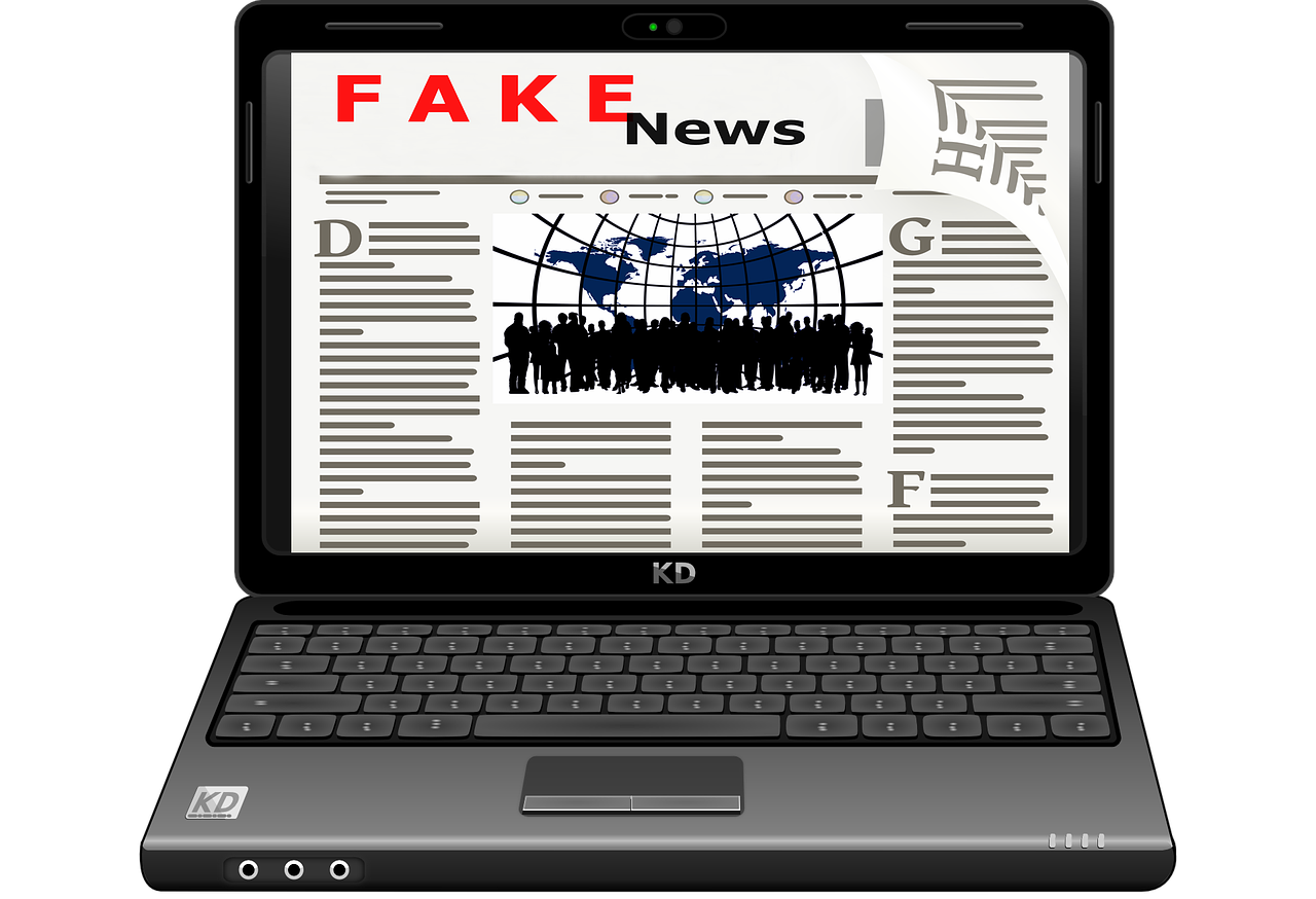 fake news detection with LSTM in Python