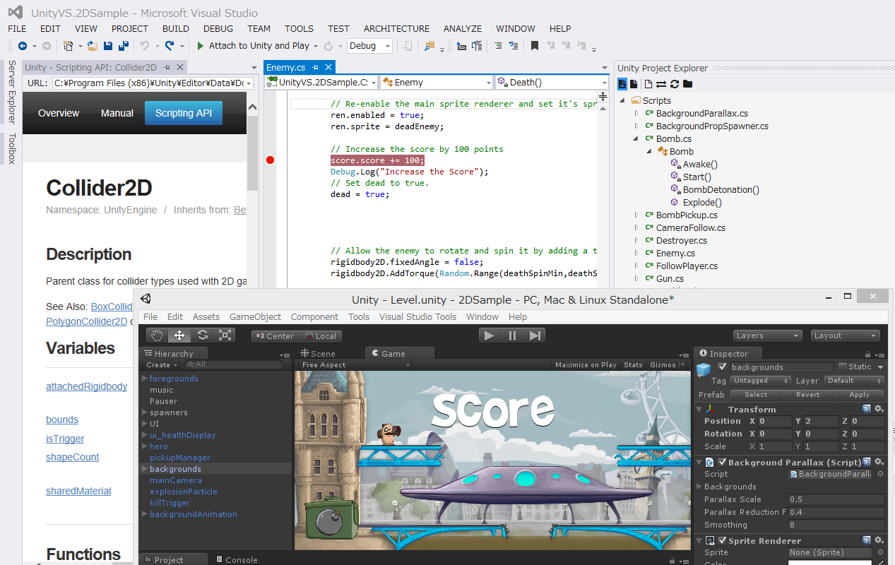 Boost Your Productivity in Unity Development by Visual Studio Tools