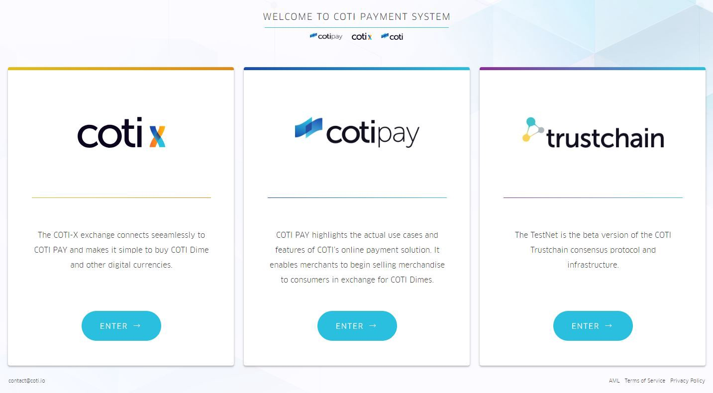 How to open and set up your MainNet wallet - COTI - Medium