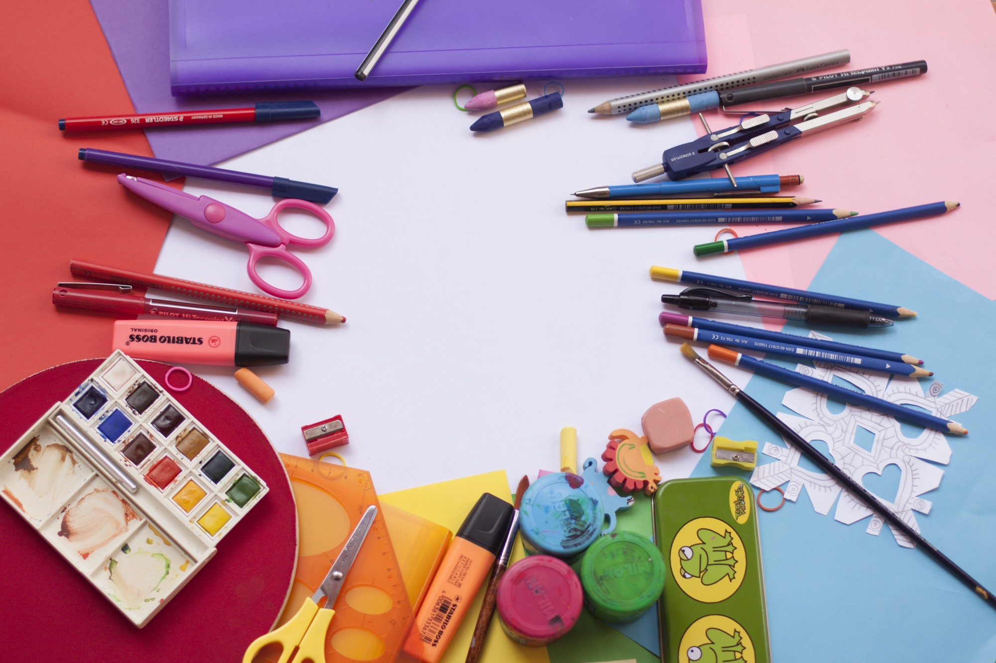 Image of art and craft supplies